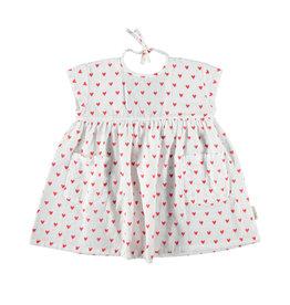Piupiuchick Piupiuchick Short dress red hearts