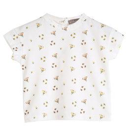 Emile et Ida Emile et Ida T-shirt Ecru Mimosa