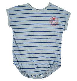 Bonmot Bonmot body jersey thin stripes light blue