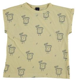Bonmot Bonmot t-shirt summer bakery melow yellow