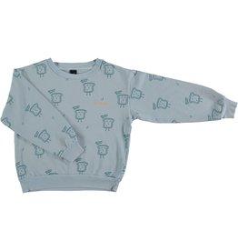 Bonmot Bonmot sweatshirt bakery light blue