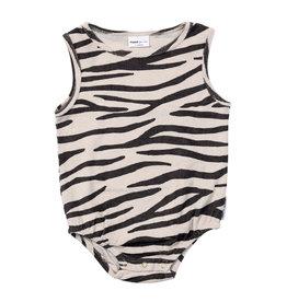 maed for mini maed for mini bodysuit smiling zebra