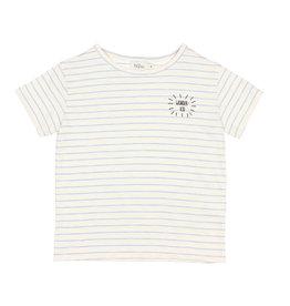 Buho Buho Leonardo t-shirt stripes blue