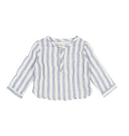 Buho Buho Paul shirt stripes indigo