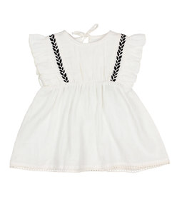 Buho Buho Graziella dress white
