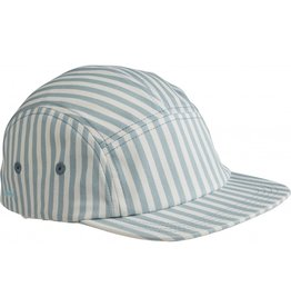 Liewood Liewood Rory cap stripe sea blue/white