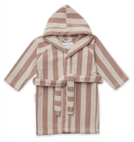Liewood Liewood Reggie bathrobe stripe rose/sandy