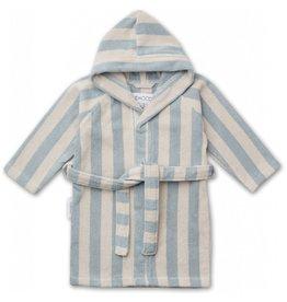 Liewood Liewood Reggie bathrobe stripe sea blue/sandy