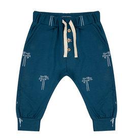 Little Indians Little Indians pants palmtrees legion blue