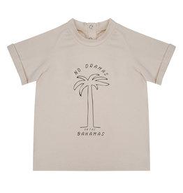Little Indians Little Indians shirt no dramas on the bahamas ecru