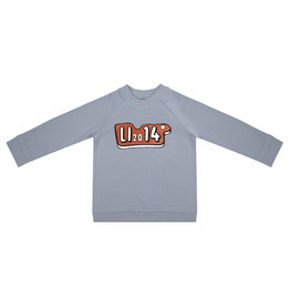 Little Indians Little Indians sweater LI'14 flint stone