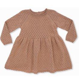 Konges Slojd Konges Slojd Ballerina dress cotton knit sahara