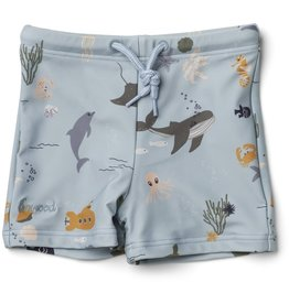 Liewood Liewood Otto swim pants sea creature mix