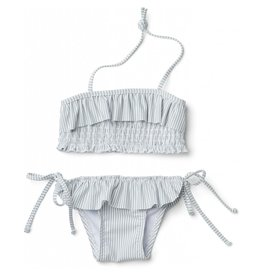 Liewood Liewood Riley bikini set stripe sea blue/white