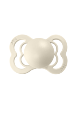 BIBS BIBS supreme fopspeen silicone T1 0-6m ivory
