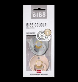 BIBS BIBS fopspeen T1 0-6 maanden cloud/blush