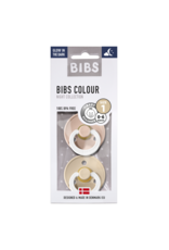 BIBS BIBS glow in the dark fopspeen T1 0-6 maanden vanilla/blush