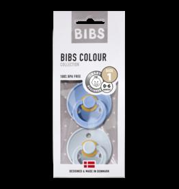 BIBS BIBS fopspeen T1 0-6 maanden sky blue/baby blue