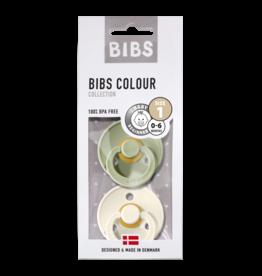 BIBS BIBS fopspeen T1 0-6 maanden sage/ivory