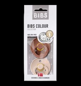 BIBS BIBS fopspeen T1 0-6 maanden woodchuck/blush