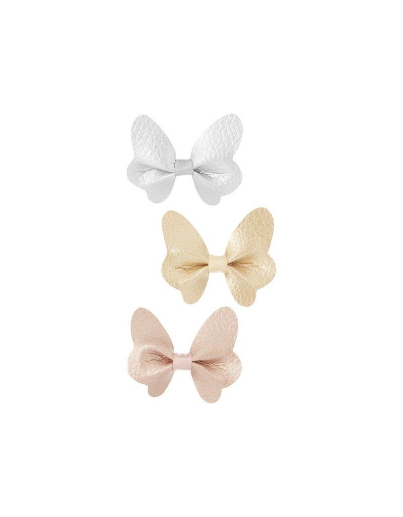 Mimi & Lula Mimi & Lula Metallic butterfly clips