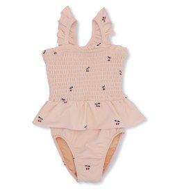 Konges Slojd Konges Slojd baby girl UV swimsuit cherry blush