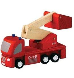 Plan Toys Plan Toys brandweerwagen