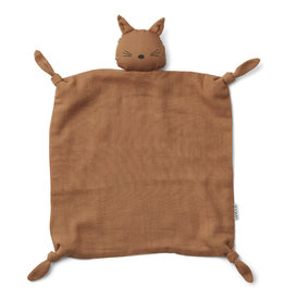 Liewood Liewood Agnete cuddle cloth cat terracotta