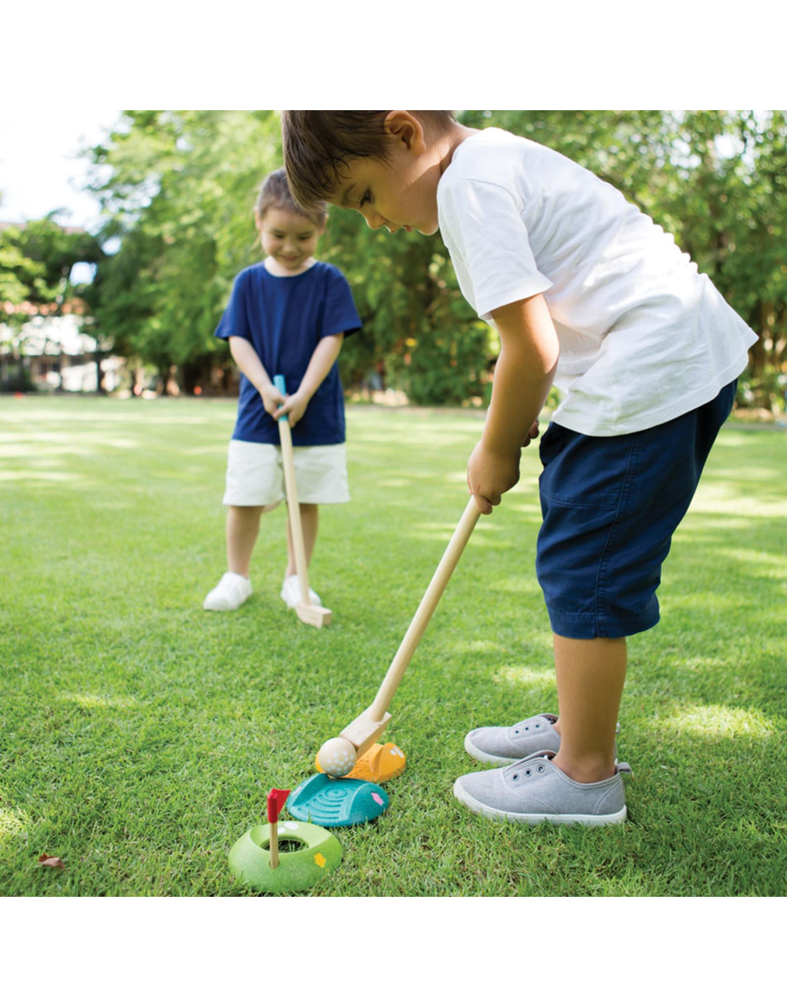 Plan Toys Plan Toys mini golf dubbele set