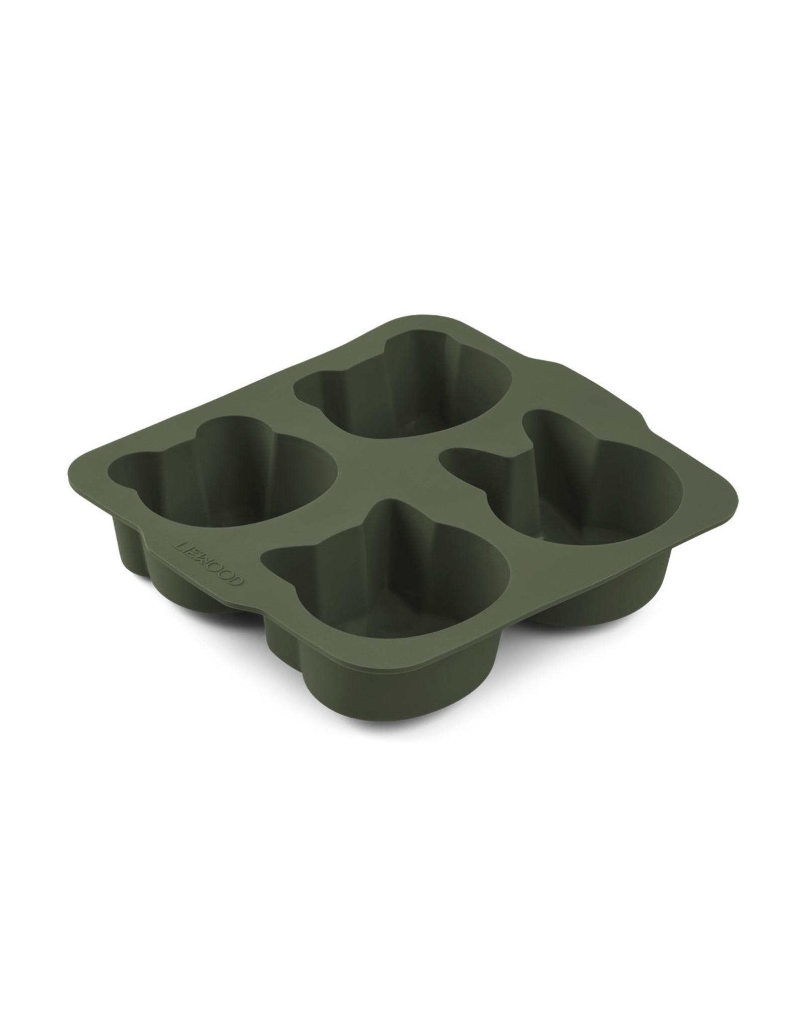 Liewood Liewood Mariam cake pan 2-pack hunter green/mustard mix