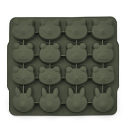 Liewood Liewood Sonny ice cub tray 2-pack hunter green/mustard mix