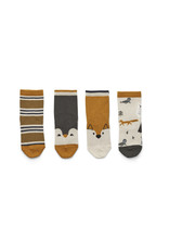 Liewood Liewood Silas cotton socks 4 pack arctic mix