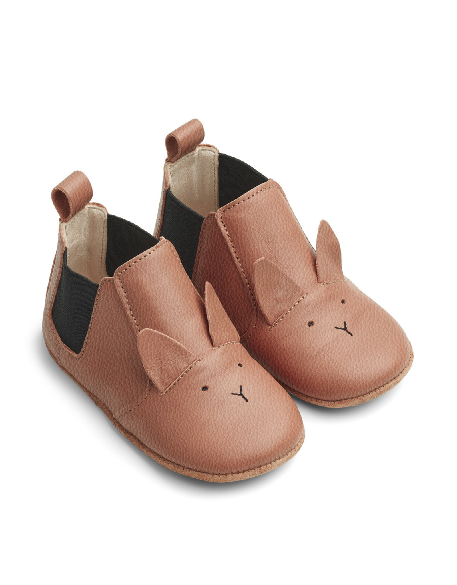 Liewood Liewood Edith leather slippers rabbit tuscany rose
