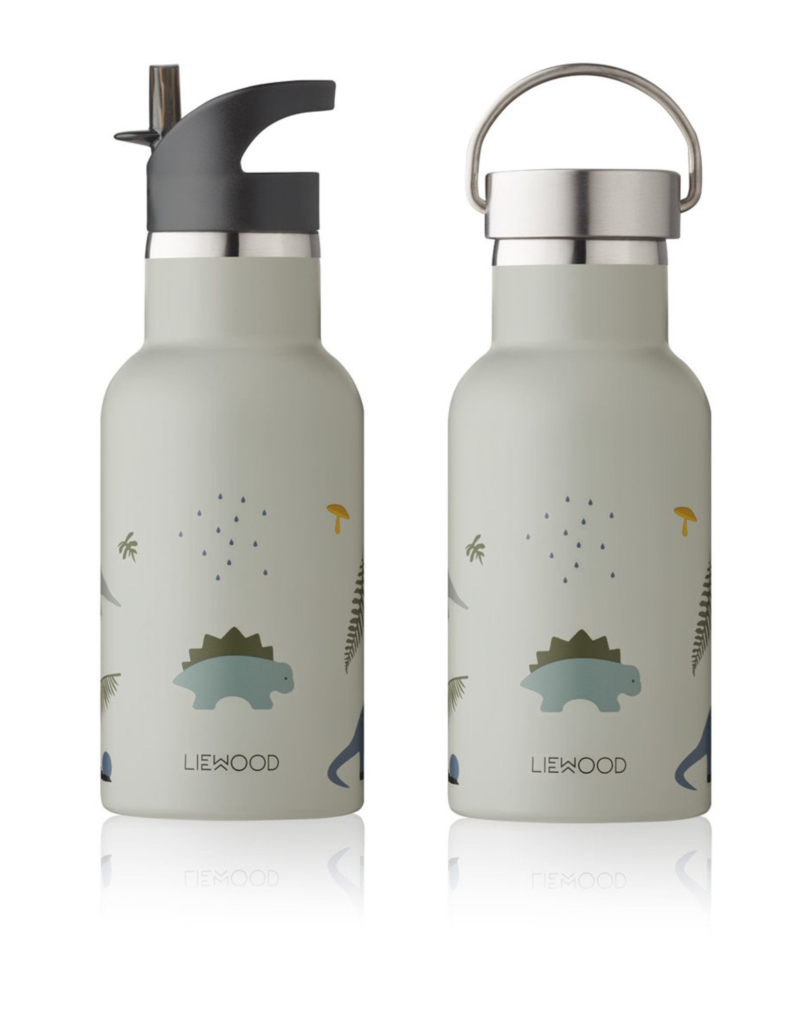 Liewood Liewood Anker waterfles dino dove blue mix