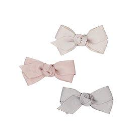 Mimi & Lula Mimi & Lula Florence bow clips pink