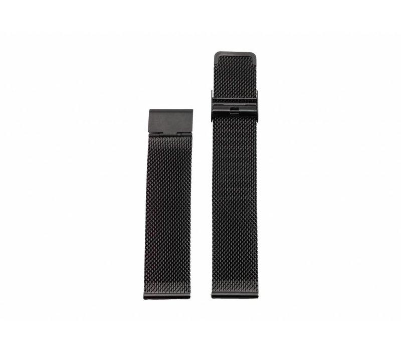Black mesh strap