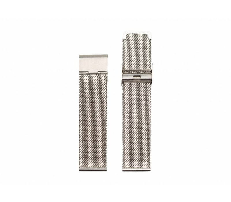 Silver mesh strap