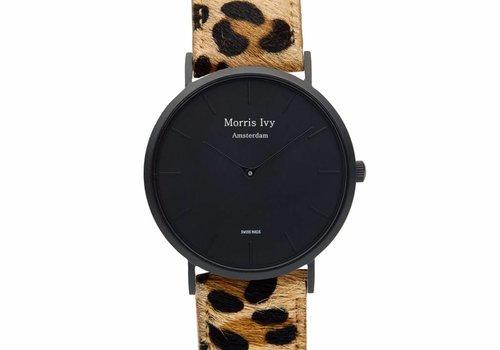 Morris Ivy Frosted Black #Leopard