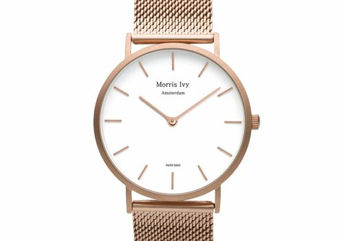 Morris Ivy Frosted Rose Gold #Mesh
