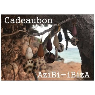 AziBi Cadeaubon  vijfentwintig euro