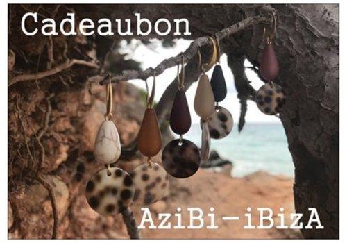 AziBi Cadeaubon dertig euro