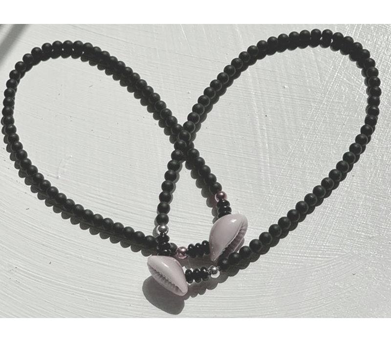 Enkelband kauri zwart