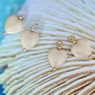 AziBi-iBizA Oorbel match hart crème