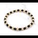 Armband goud en onyx