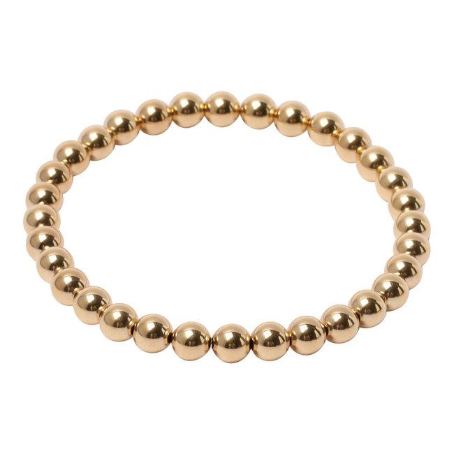 Gouden armband 7 mm.