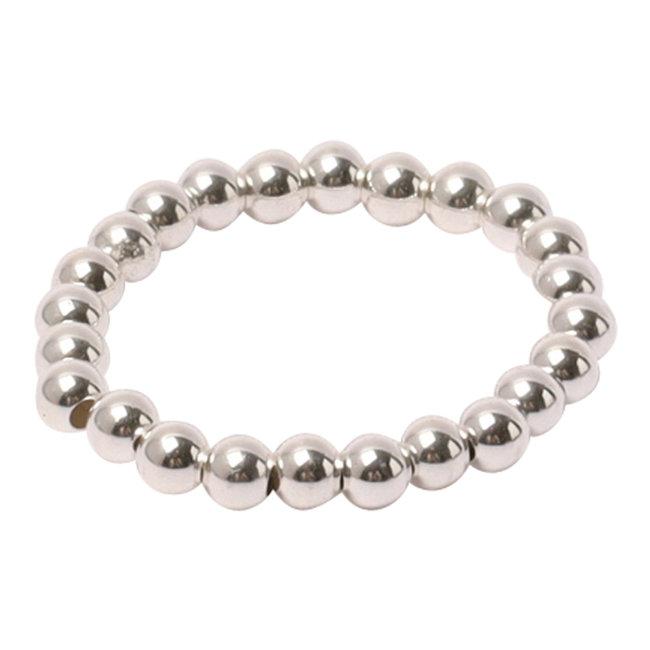 Zilveren ring 3 mm.