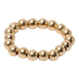 Gouden ring 4 mm.