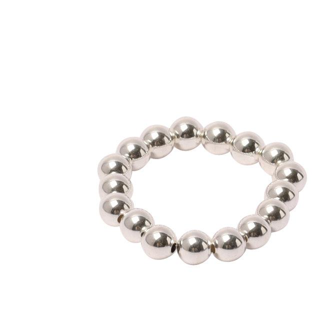 Zilveren ring 4 mm.