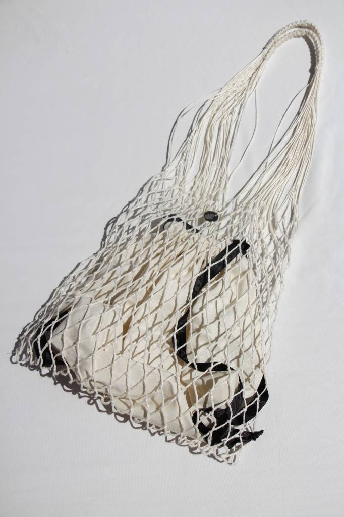 Roboty Reczne Knotted Net Bag with Inside Bag
