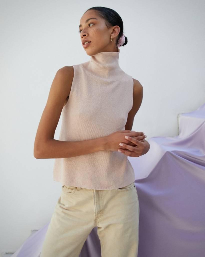 Nanushka Zoe Sleeveless Knit Top